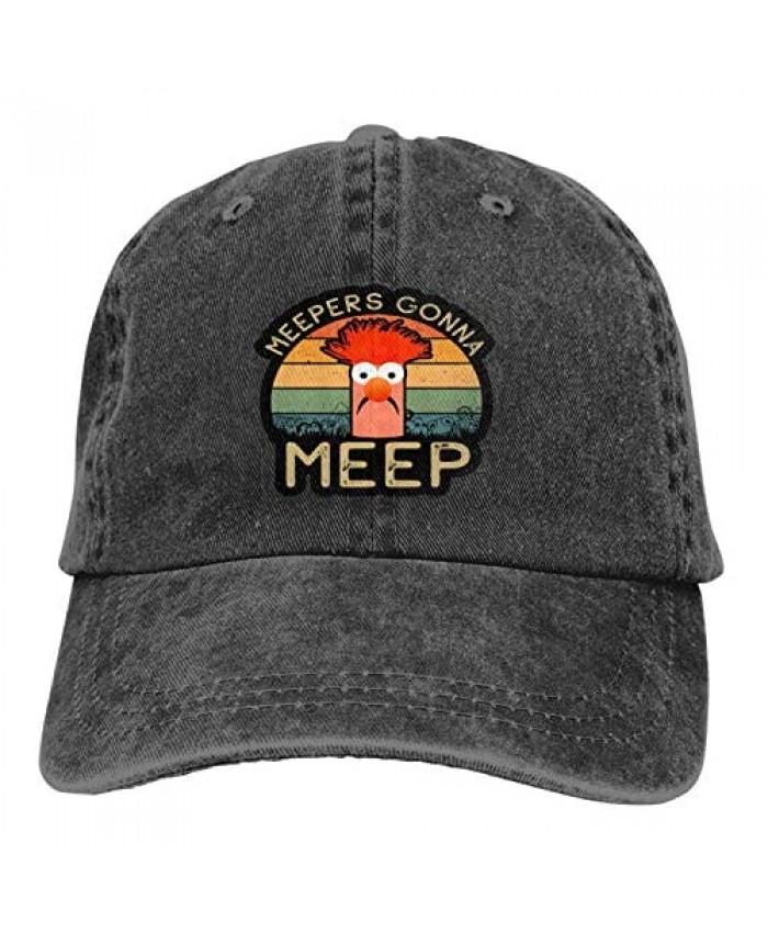 Beaker Muppets Unisex Cowboy Hat Trucker Hats Adjustable Baseball Cap Snapback Hats Peaked Cap Casquettes Hat Dad Hat