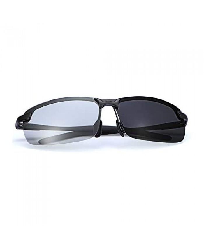Polarized Photochromic Driving z87 Sunglasses for Men Day Night Safety Glasses