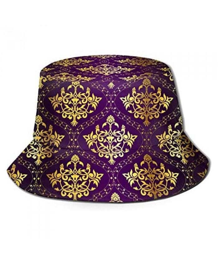 Bucket Hat Fisherman Outdoor Cap Double-Side-Wear Reversible Printed Packable Unisex Cap Best Gift