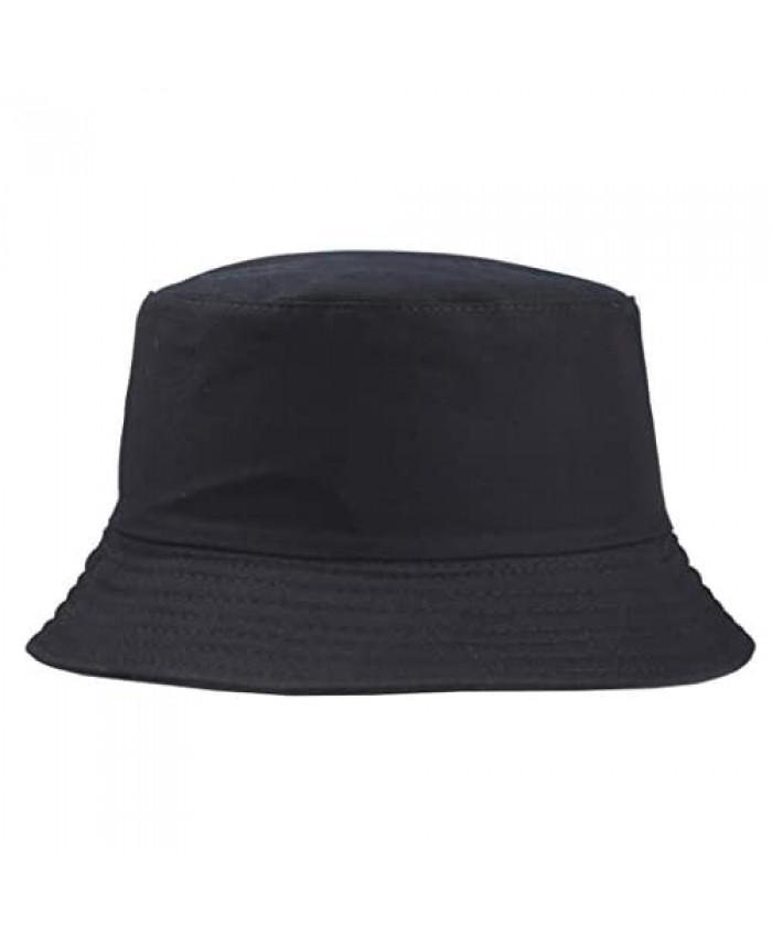 Womens Cotton Sun Hats UPF50 UV Packable Beach Hat Summer Bucket Cap for Travel