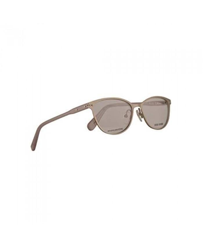 Bobbi Brown The Meryl Eyeglasses 53-16-140 Matte Silver w/Demo Clear Lens B6B